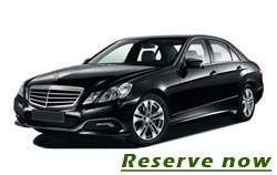 Business car private transfer from or to Belgrade airport with Mercedes E class - 30 euro