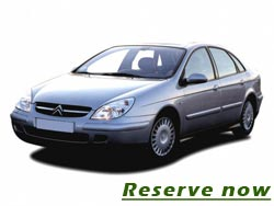 Transfer from and to Belgrade airport with standard sedan - 20 euro