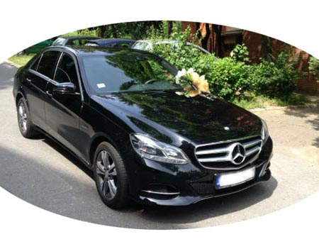 Mercedes Benz E-Class year 2016. - min. 3 hour of rent for wedding day