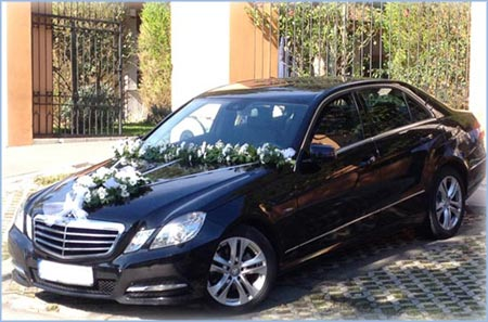 Mercedes Benz E-Class year 2012. - min. 3 hour of rent for wedding day