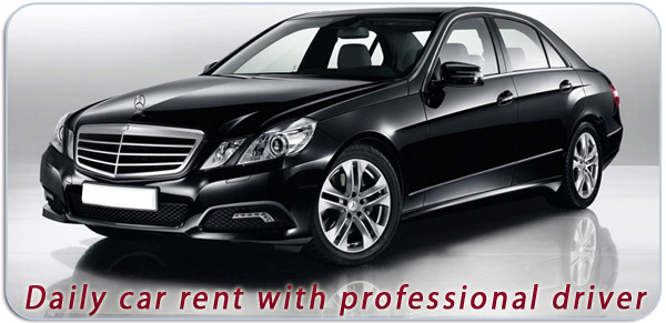 Hiring Business Class Mercedes  in Belgrade with Chauffeur